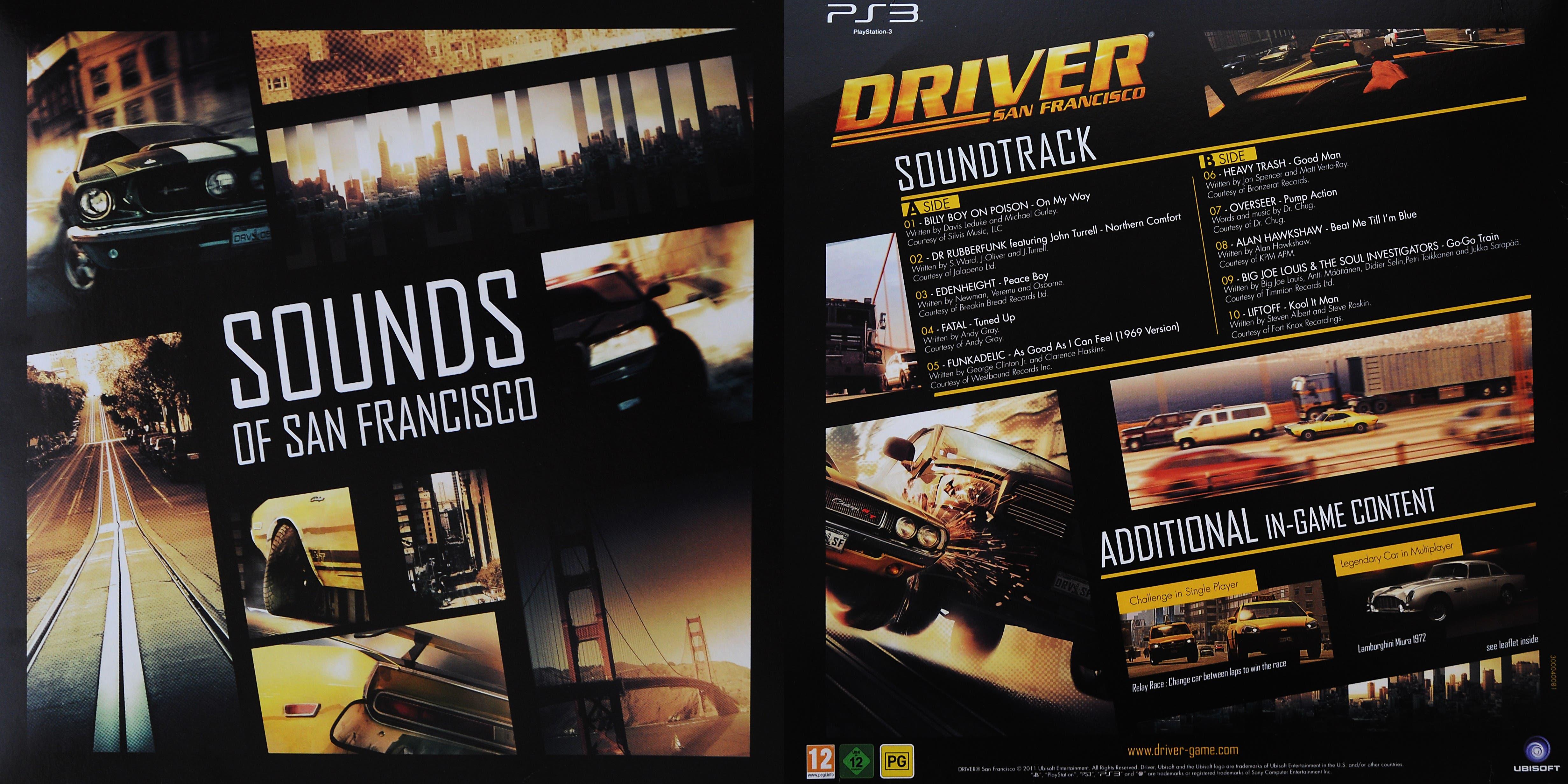 driversf soundtrack
