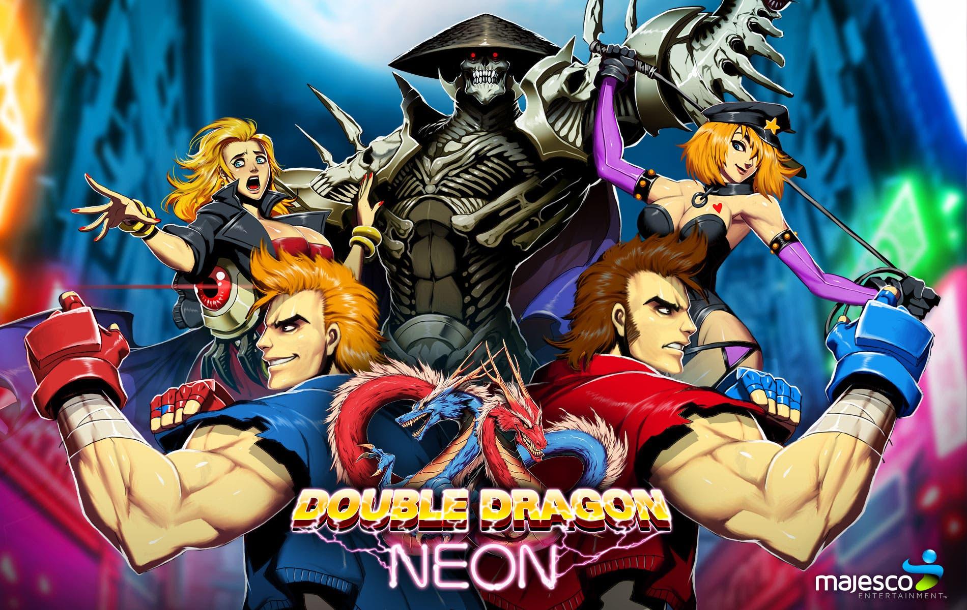 Double Dragon Neon wallpaper 1 1900x1200