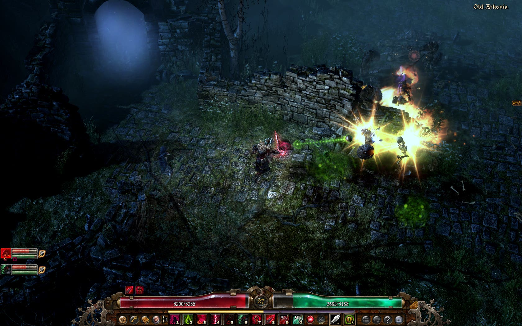 Grim Dawn updated to include Act II in Early Access - Saving