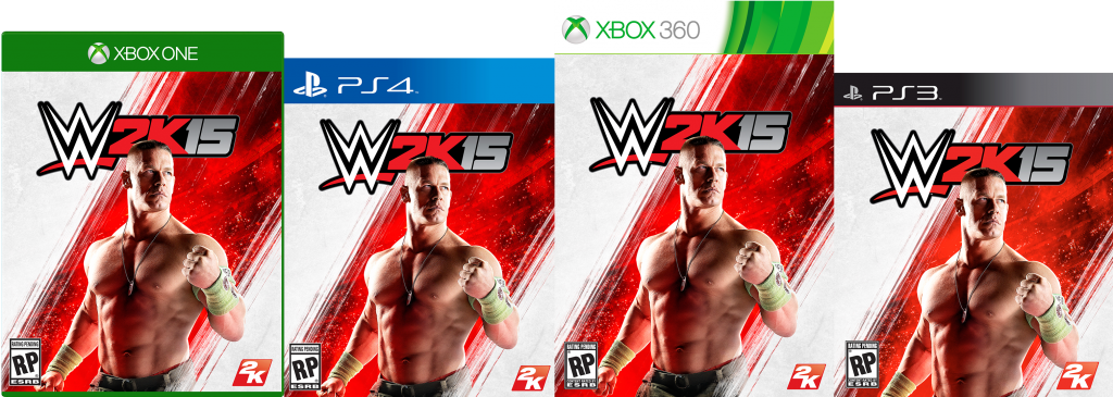 WWE2K15-covers