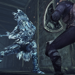DSII DLC3 09 Fight with Ice Knight