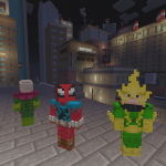 Minecraft MarvelSpiderman X1 Screenshot 06 png