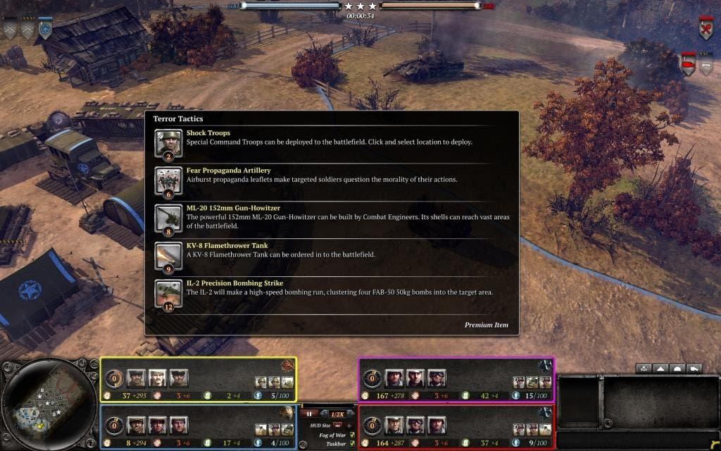 COH2 Observer Mode 3