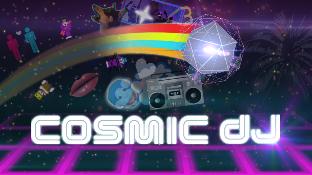 Cosmic DJ - Key Art