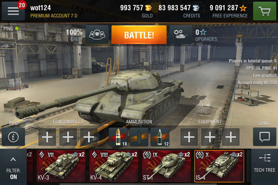 World of Tanks Blitz gets set of Heavy Russian Tanks in