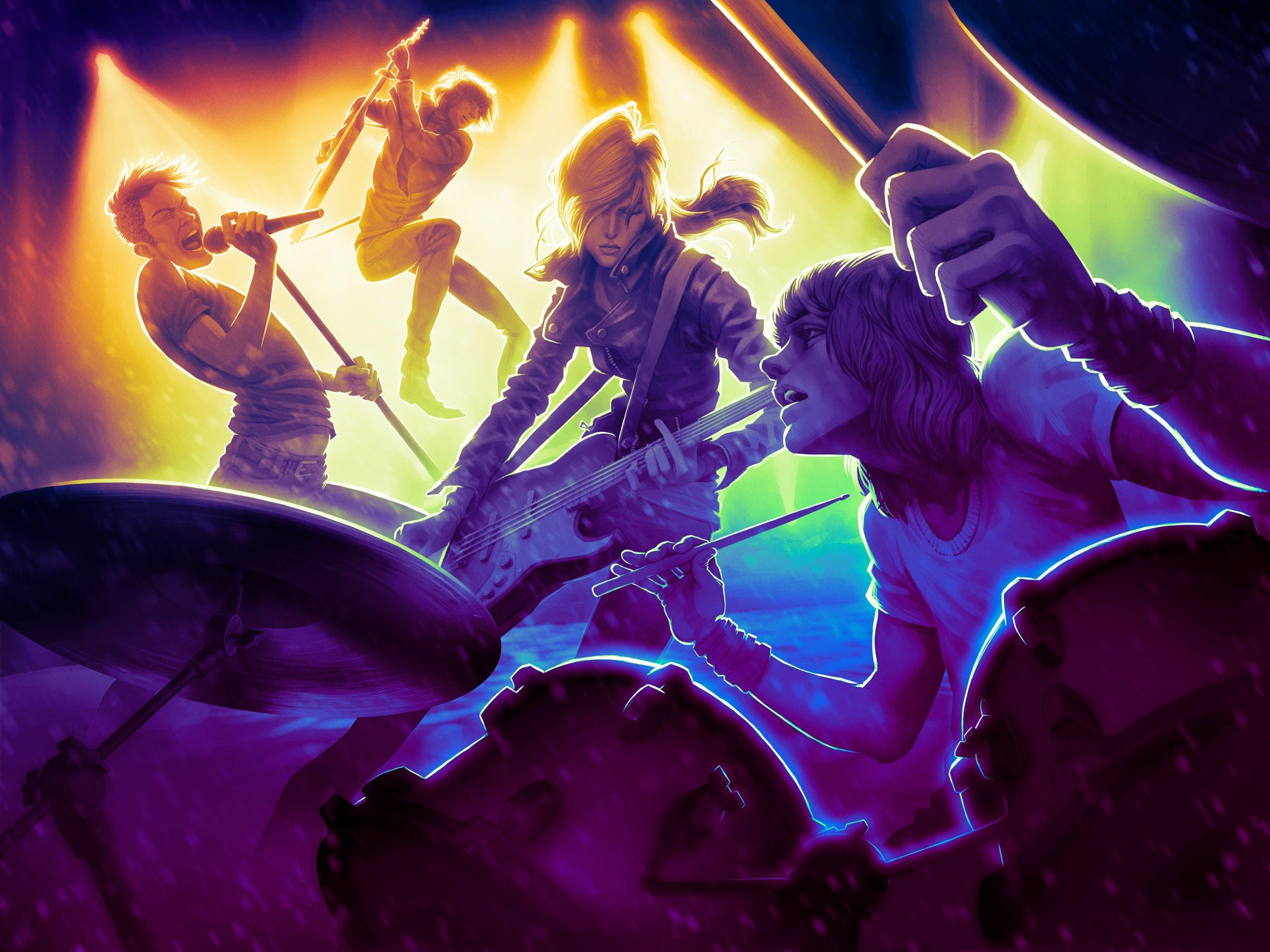 RockBand4 Promo Illustration nologo