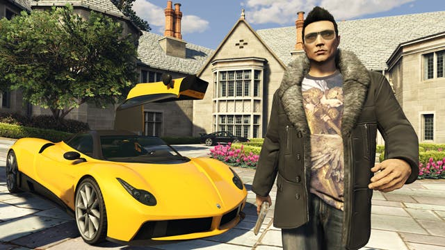 Just like the Benefactor Stirling GT, the Pegassi Osiris features gull-wing doors.