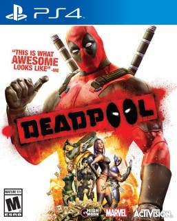 Deadpool Box PS4