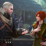 The Witcher 3 Wild Hunt Hearts of Stone Im sure the lumps nothing Geralt but Id rather not diagnose you at a party EN