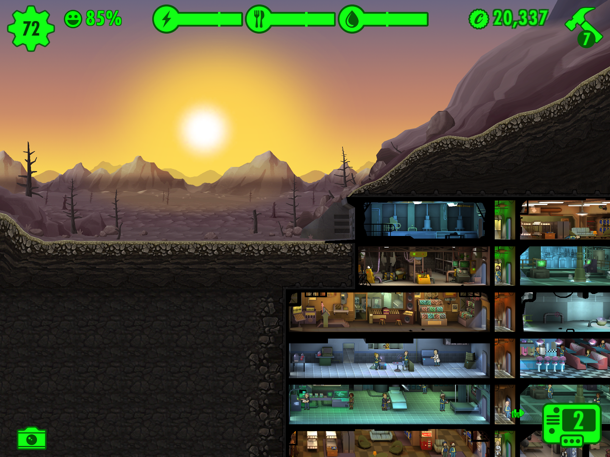 Fallout Shelter 1 1456738104.4 Update Dusk