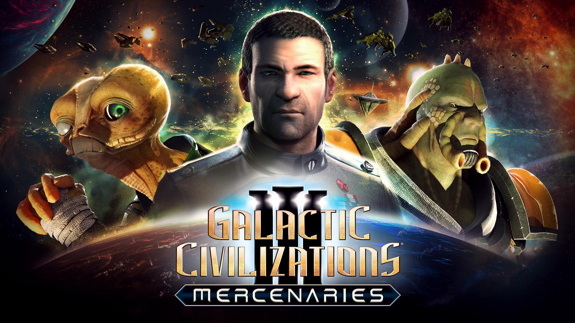 Galactic Civilizations III- Mercenaries - KeyArt