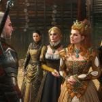The Witcher 3 Wild Hunt Blood and Wine Anna Henrietta and her entourage RGB EN