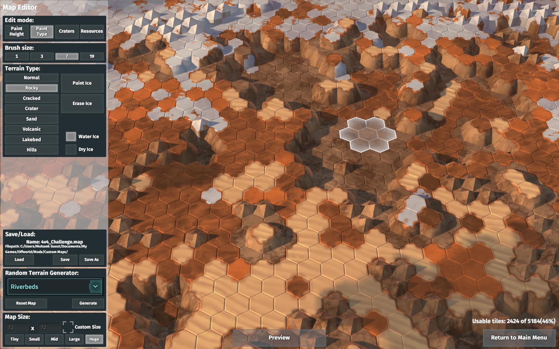 Offworld Trading Company - MapEditor Build