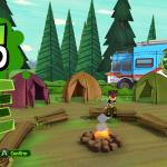 Ben 10 Video Game menu