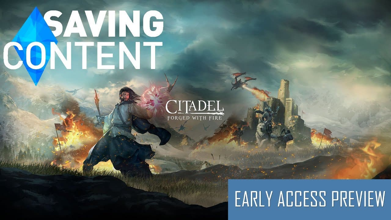 citadel forged with fire early a