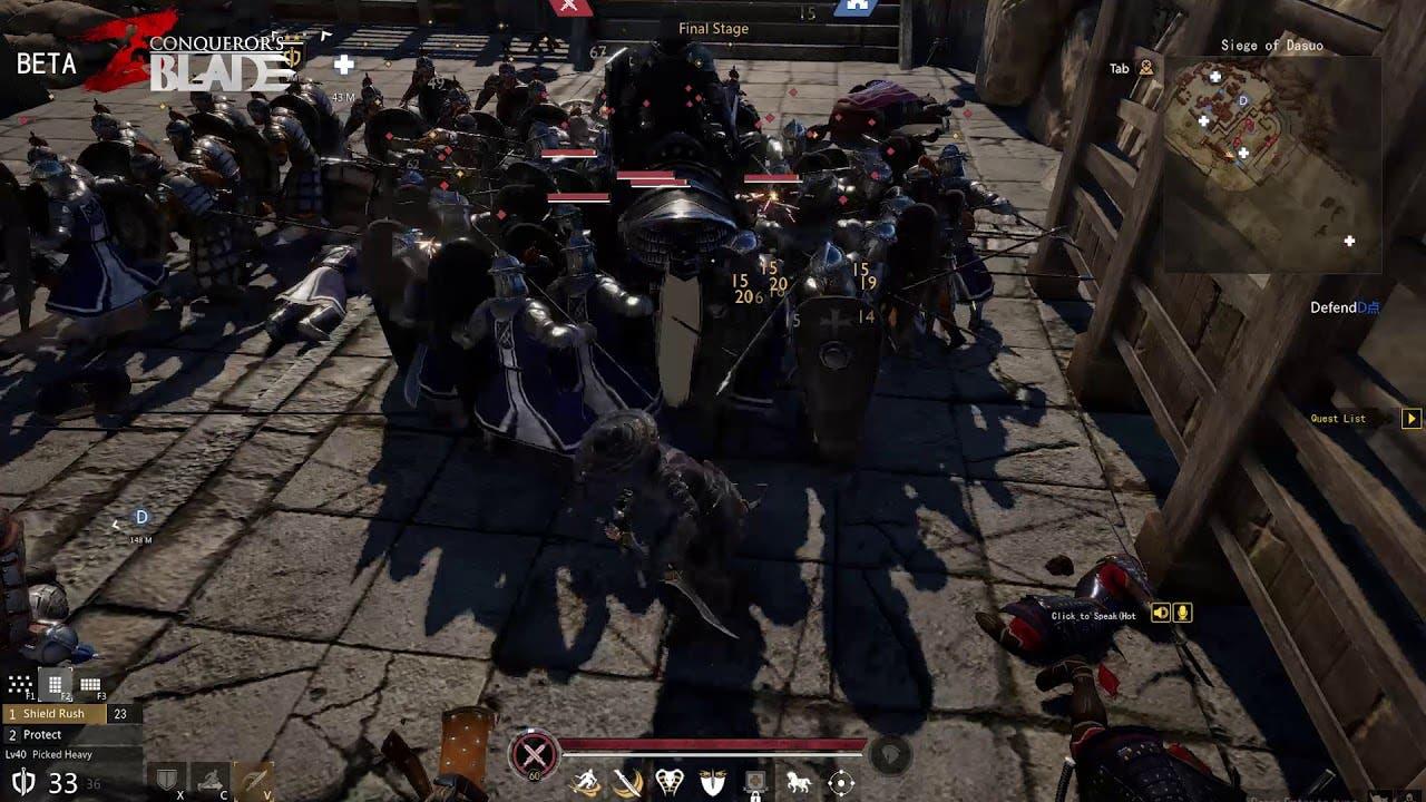 conquerors blade beta begins on