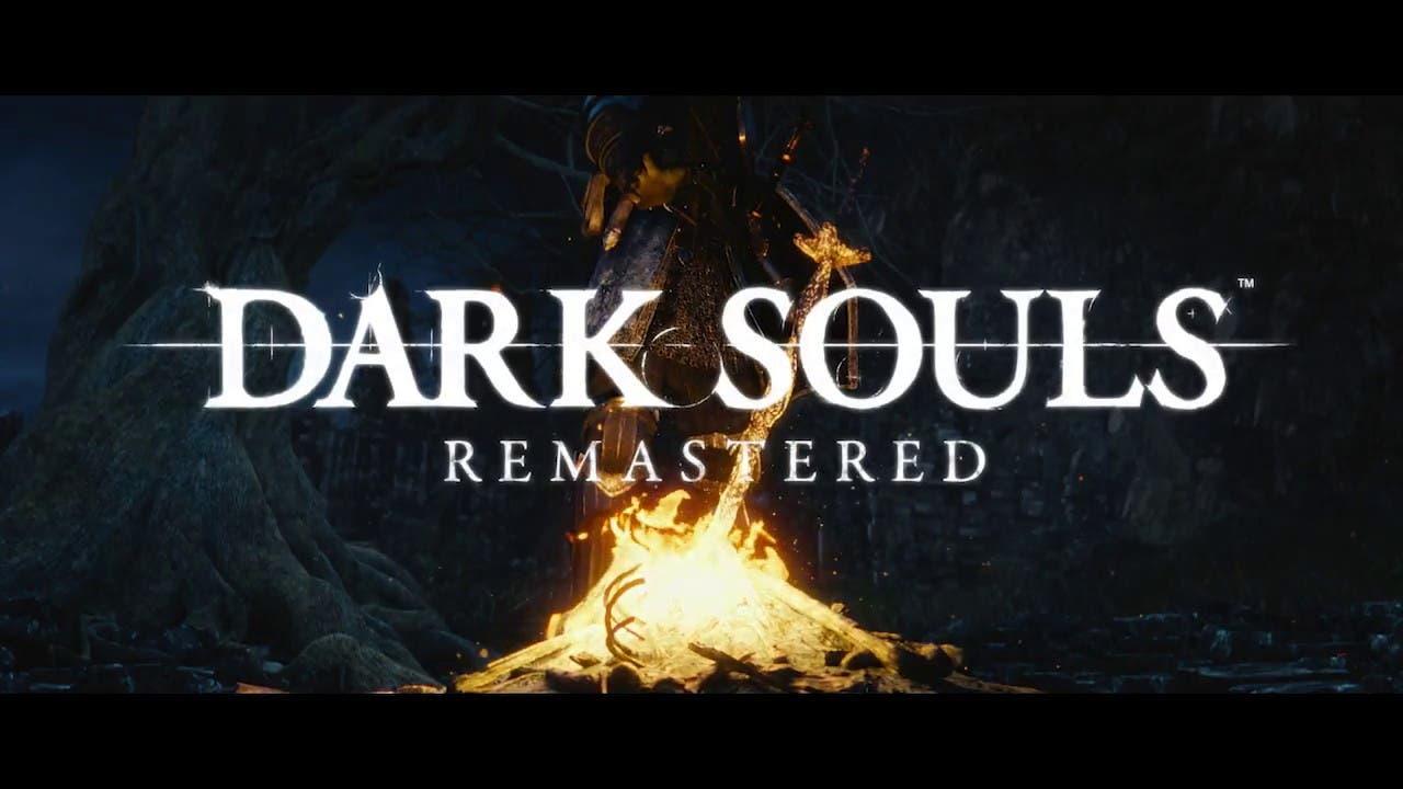 dark souls remastered announced