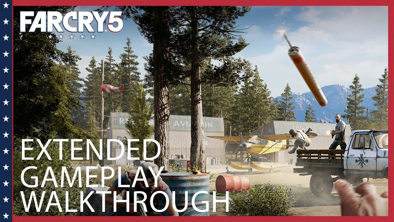 far cry 5 extended gameplay deve
