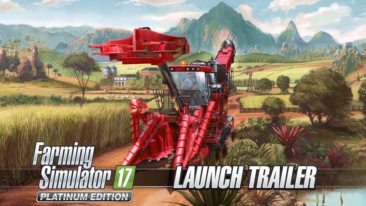 farming simulator 17 platinum ed
