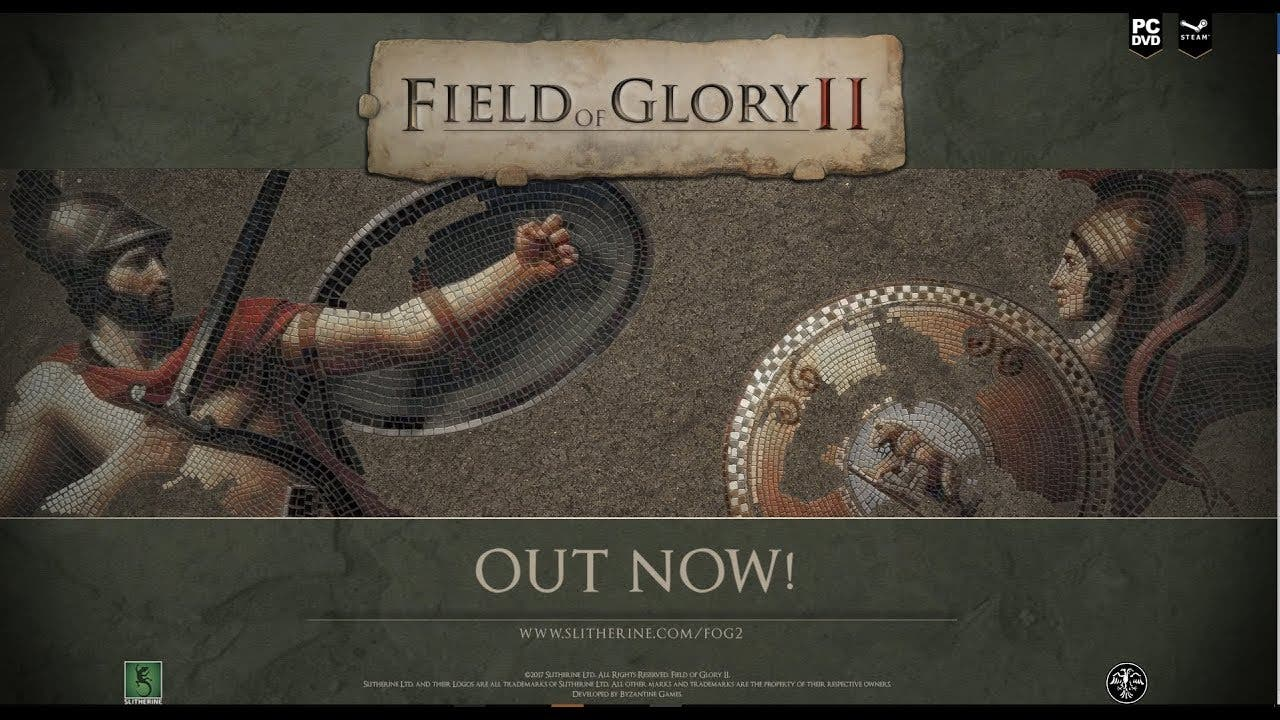 field of glory ii is now availab