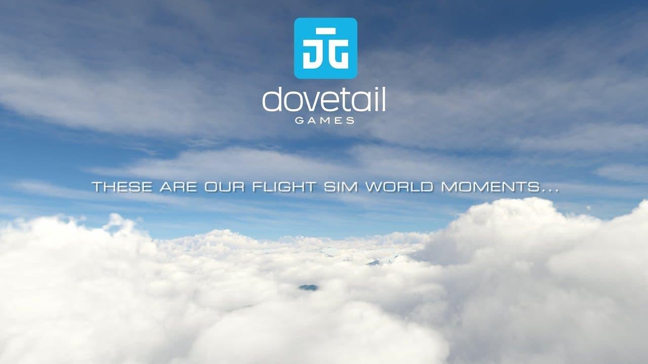 flight sim world flies out of st