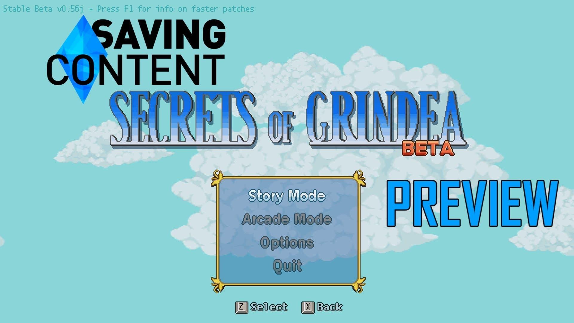 lets preview secrets of grindea