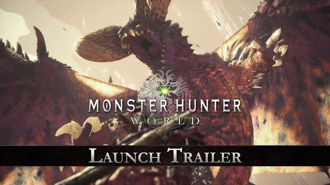 monster hunter world is now avai