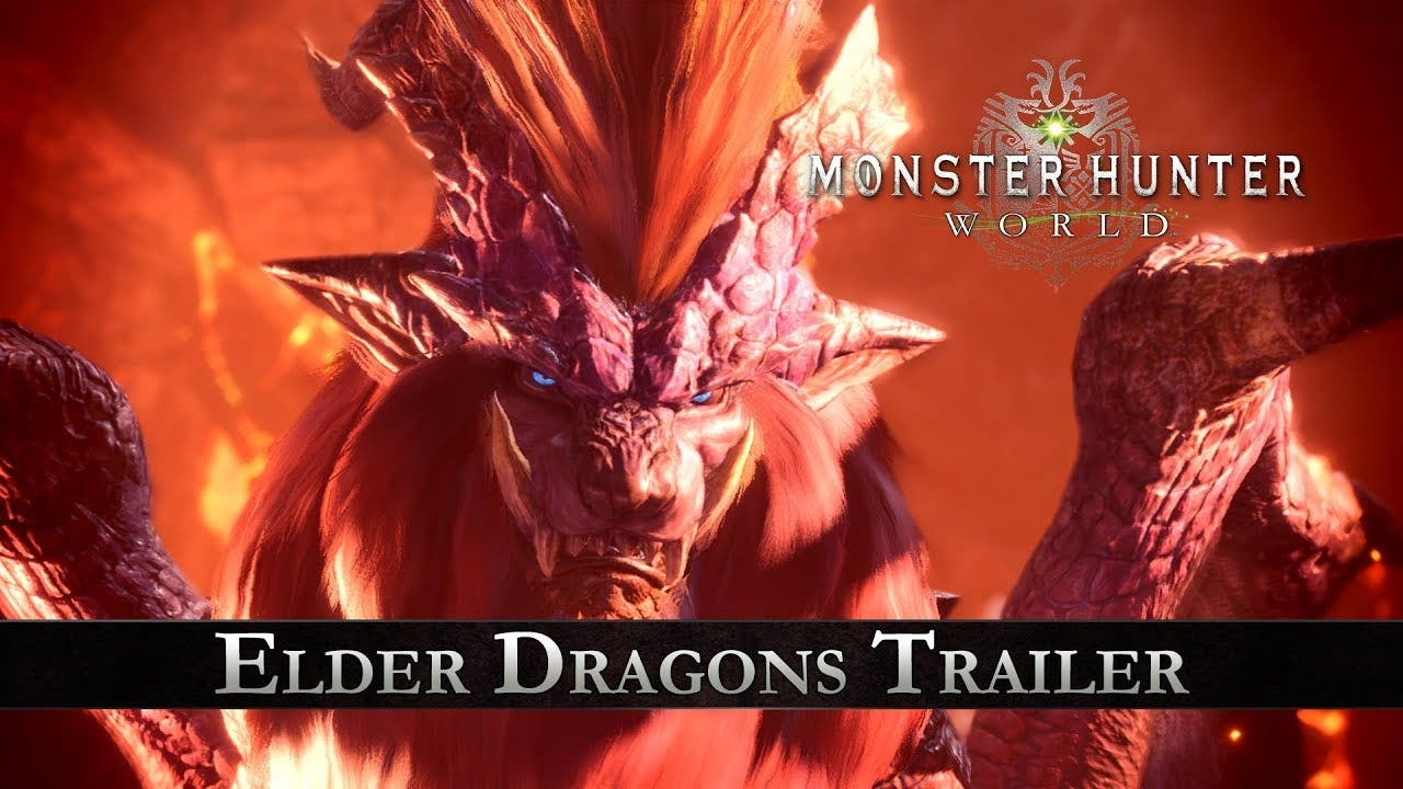 monster hunter world trailer int