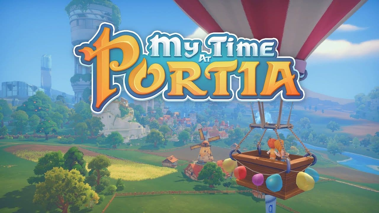 my time at portia now available