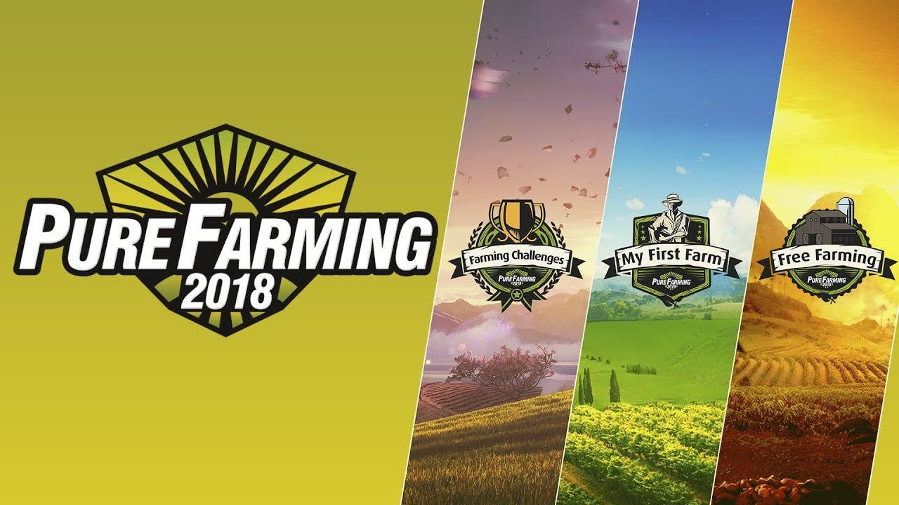pure farming 2018 trailer gives