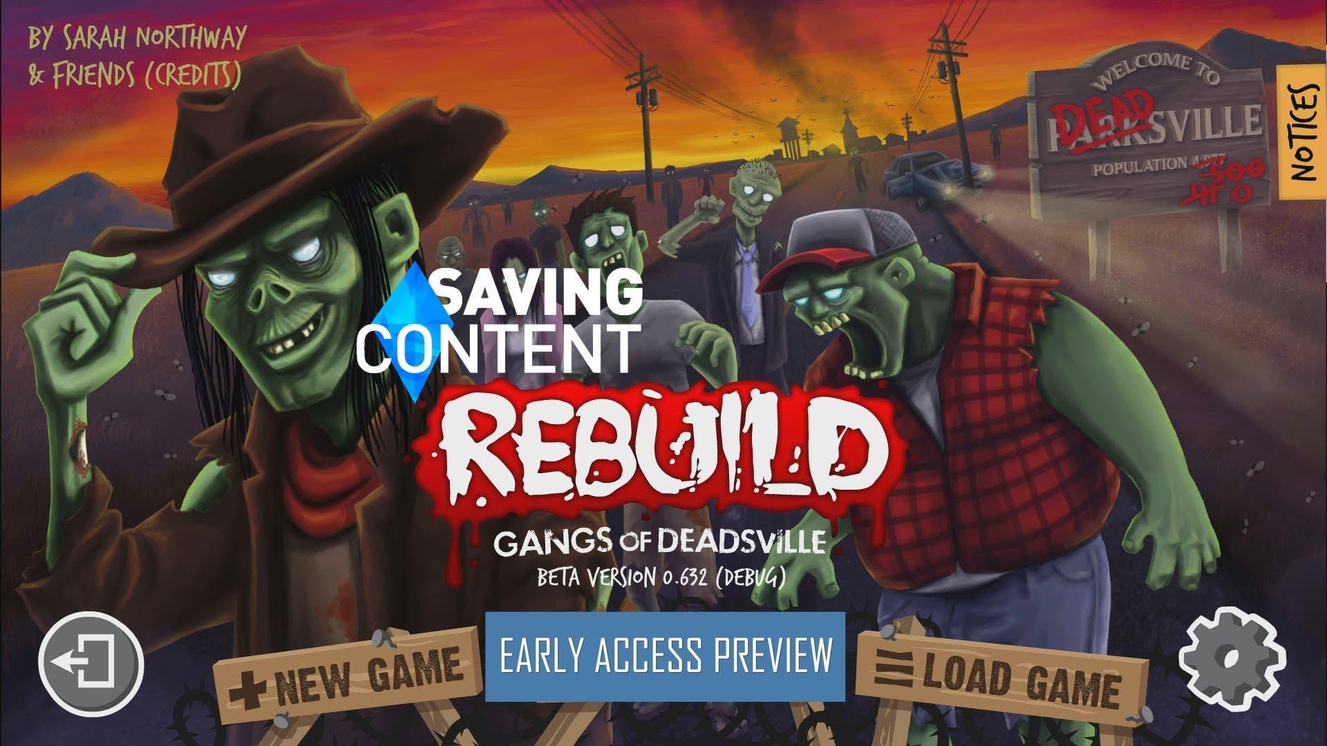 rebuild gangs of deadsville beta
