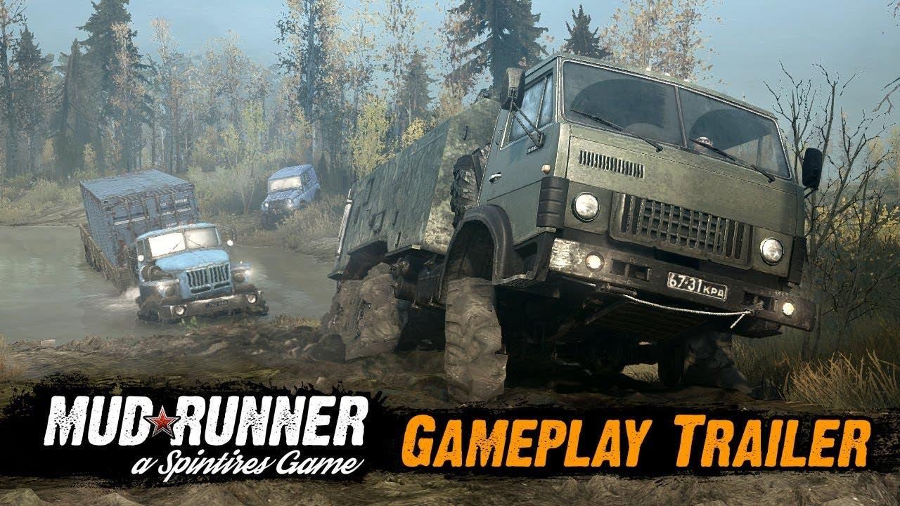 spintires mudrunner gameplay tra