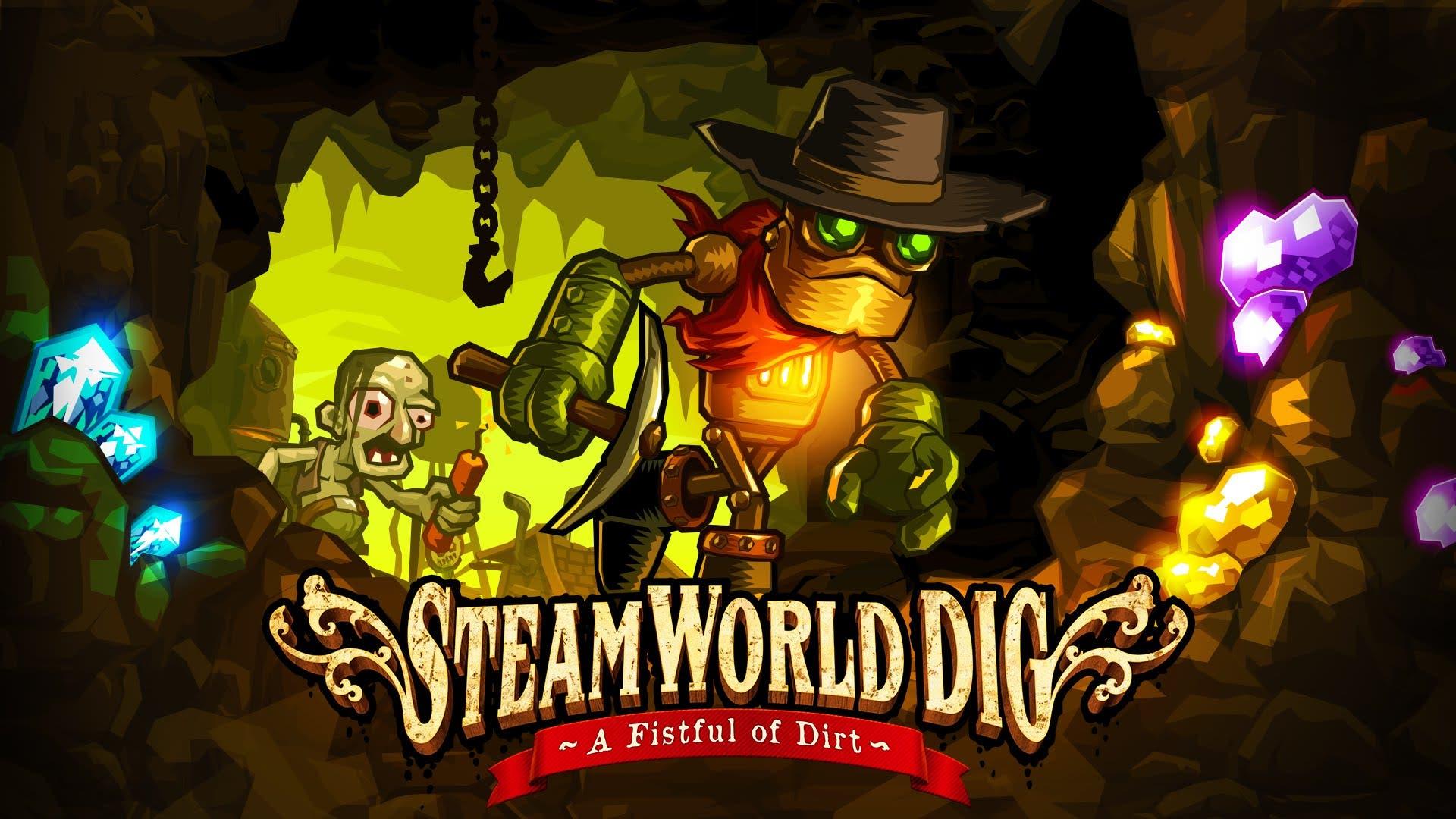 steamworld dig a fistful of dirt