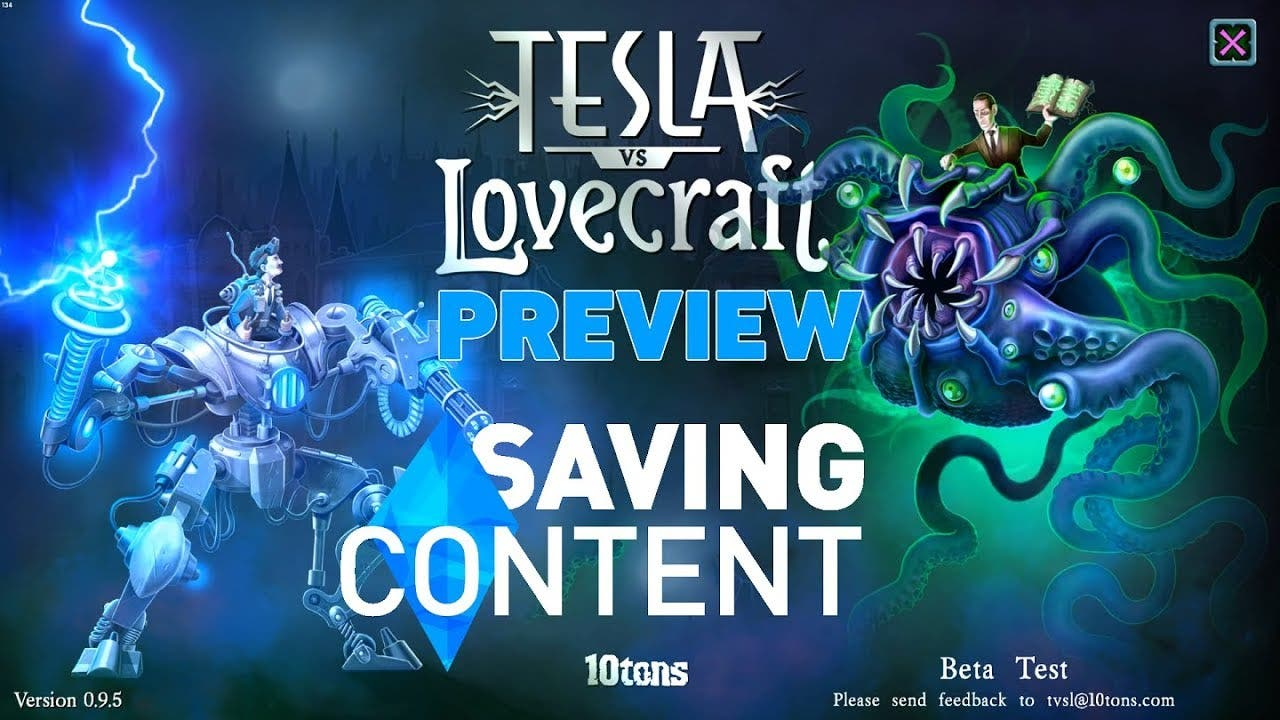 tesla vs lovecraft preview
