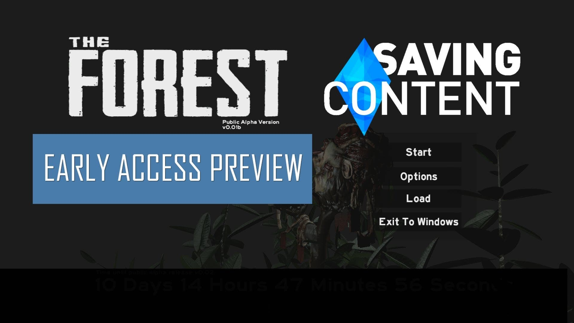 the forest early access preview