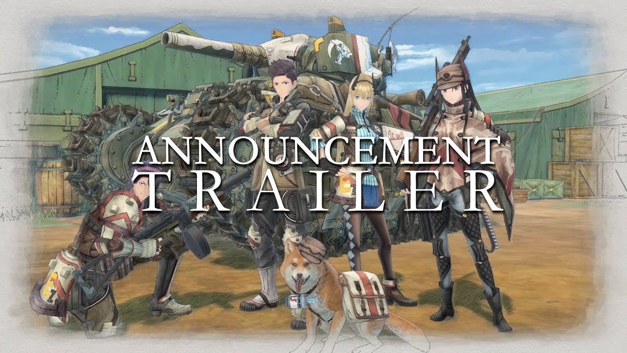 valkyria chronicles 4 announced