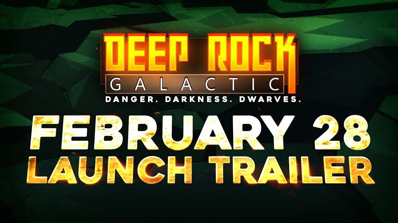 deep rock galactic comes to stea