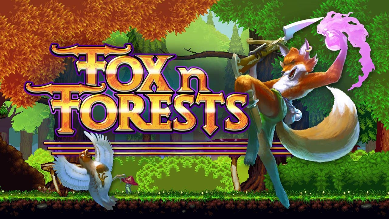 fox n forests is a 2d action pla