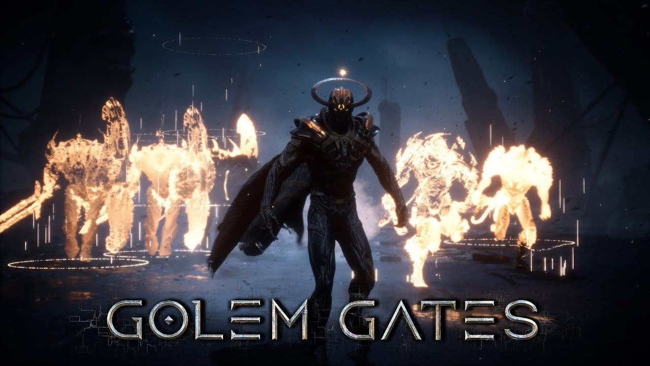 golem gates is a rts and ccg hyb