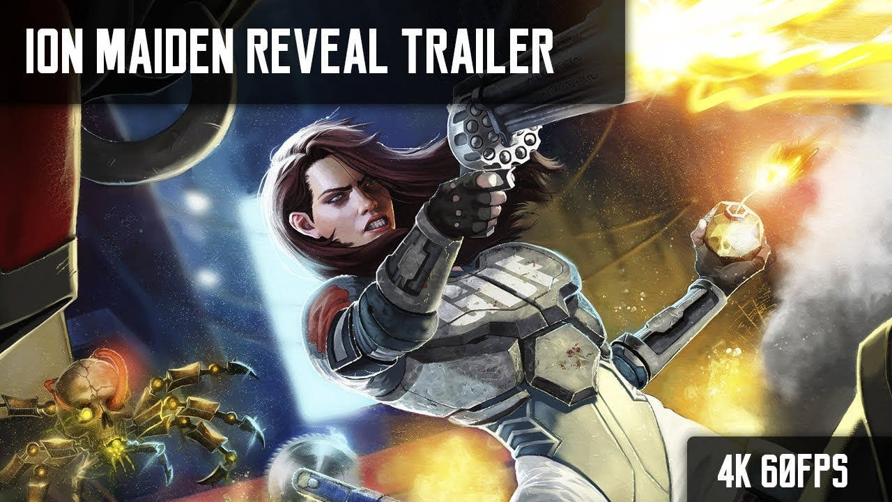 ion maiden announced then releas