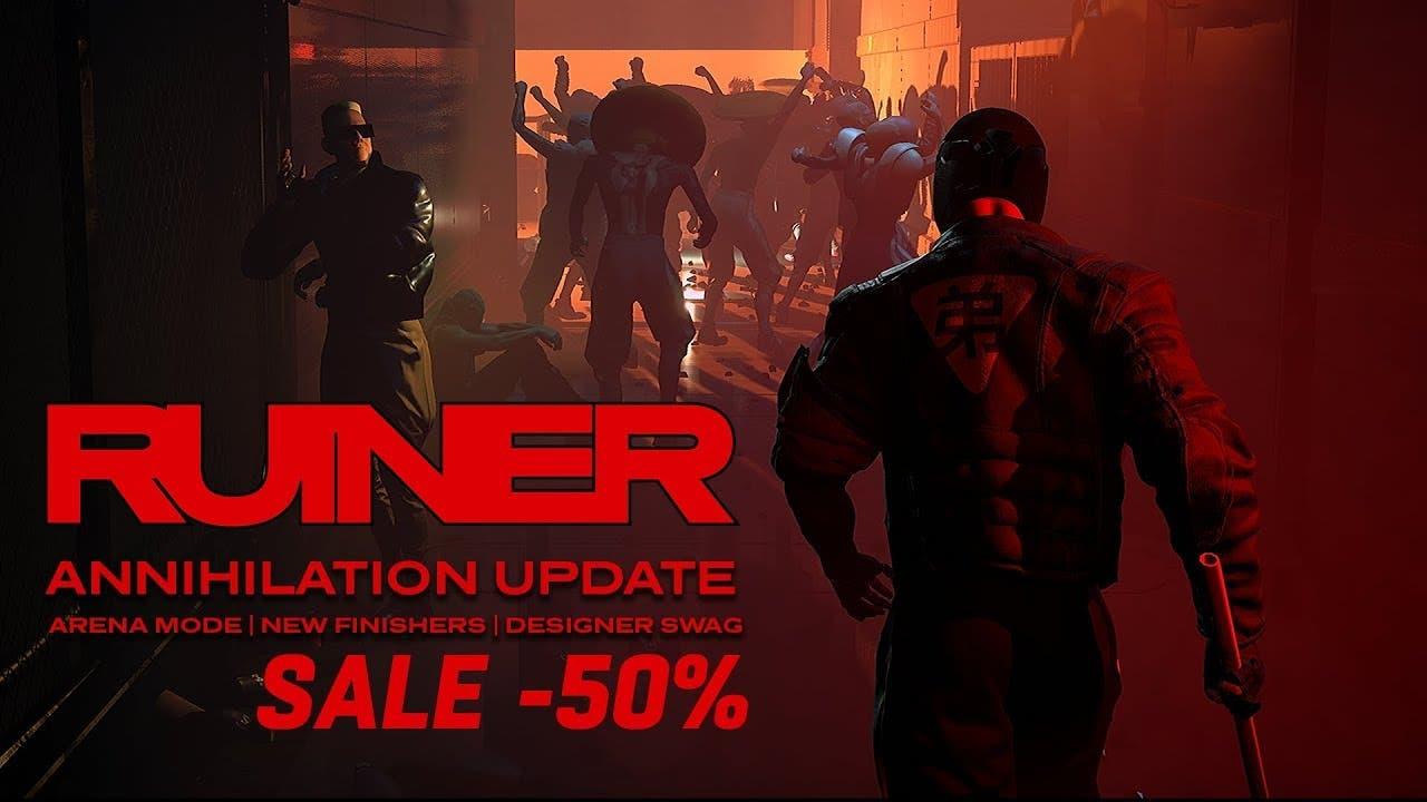 ruiner gets free annihilation up
