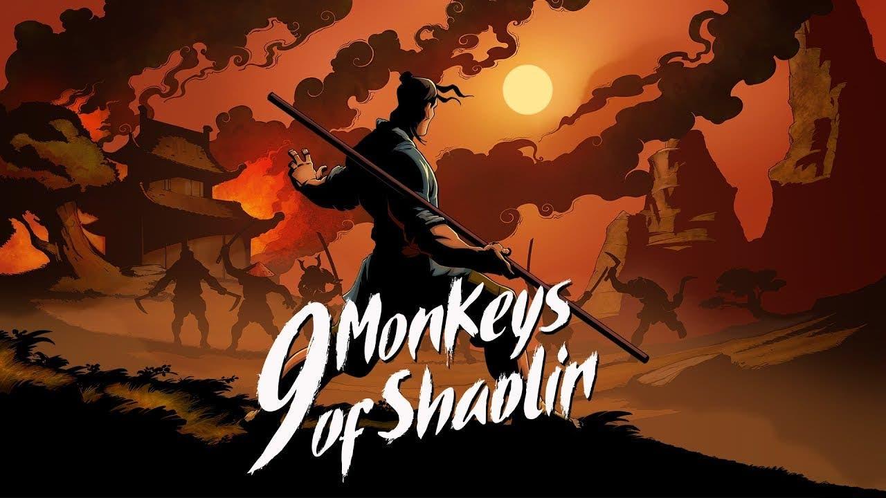 9 monkeys of shaolin from sobaka