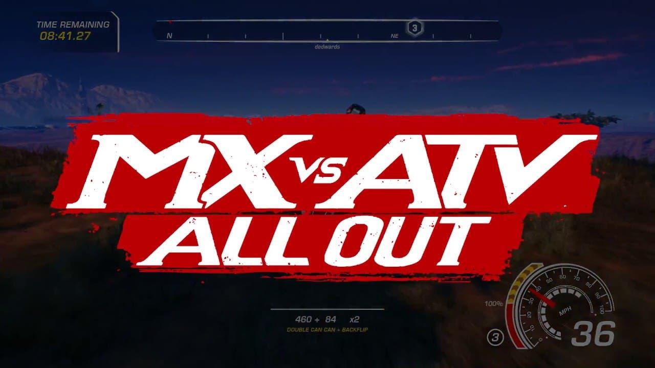 mx vs atv all out career mode av