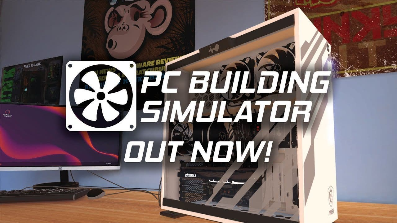 pc building simulator from the i