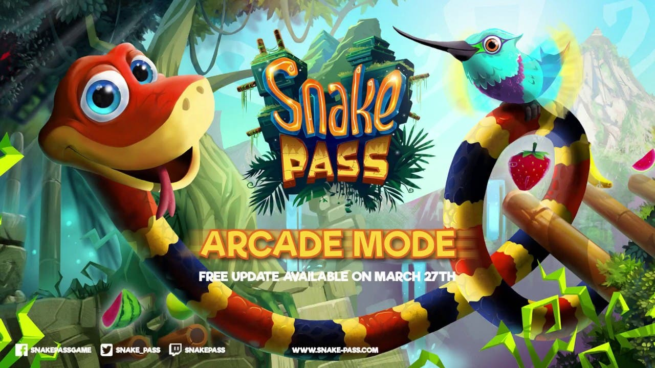 snake pass arcade mode pack come