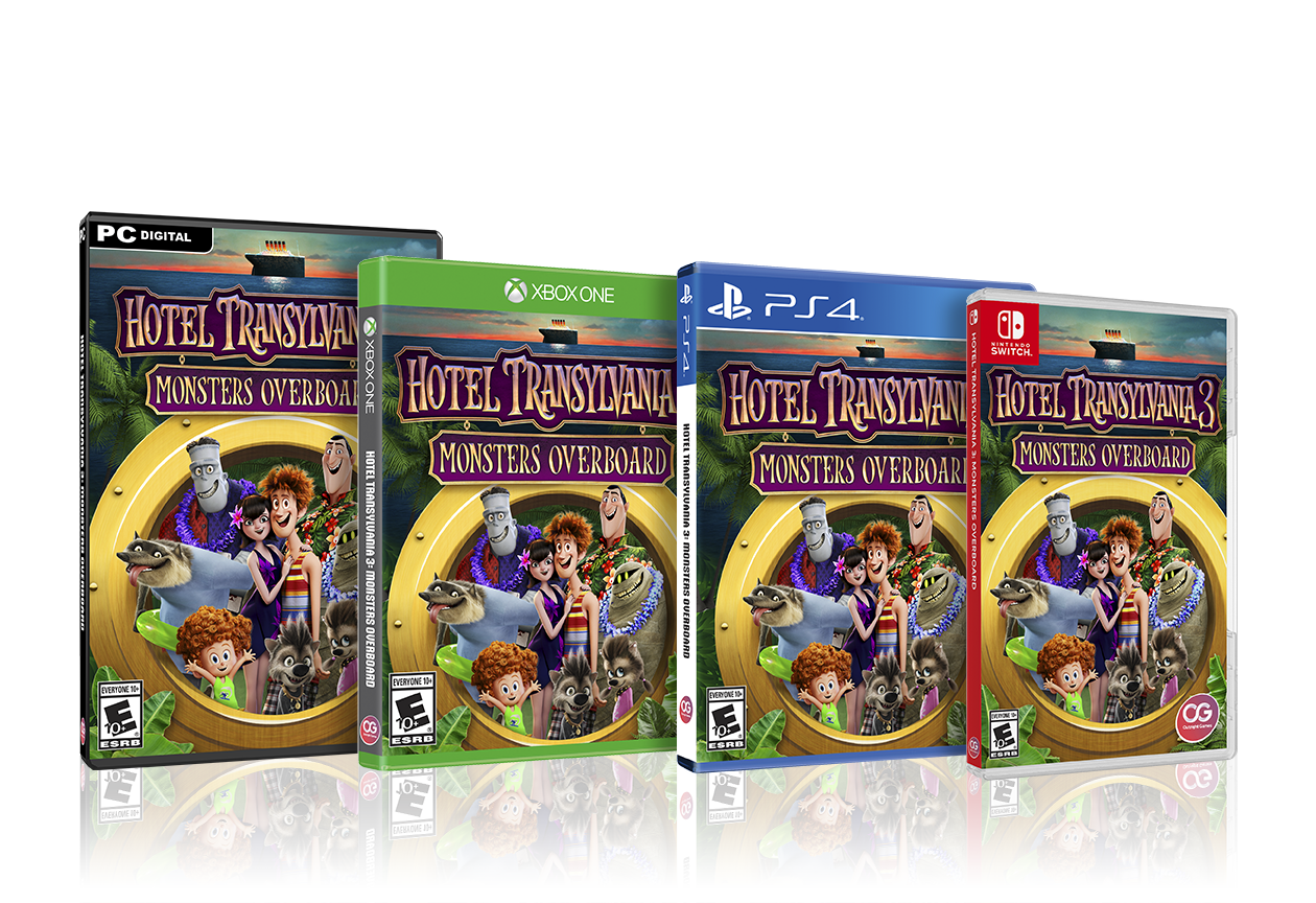 Hotel Transylvania 3 Summer Vacation >> Hotel Transylvania 3 Monsters Overboard coming to PC and ...