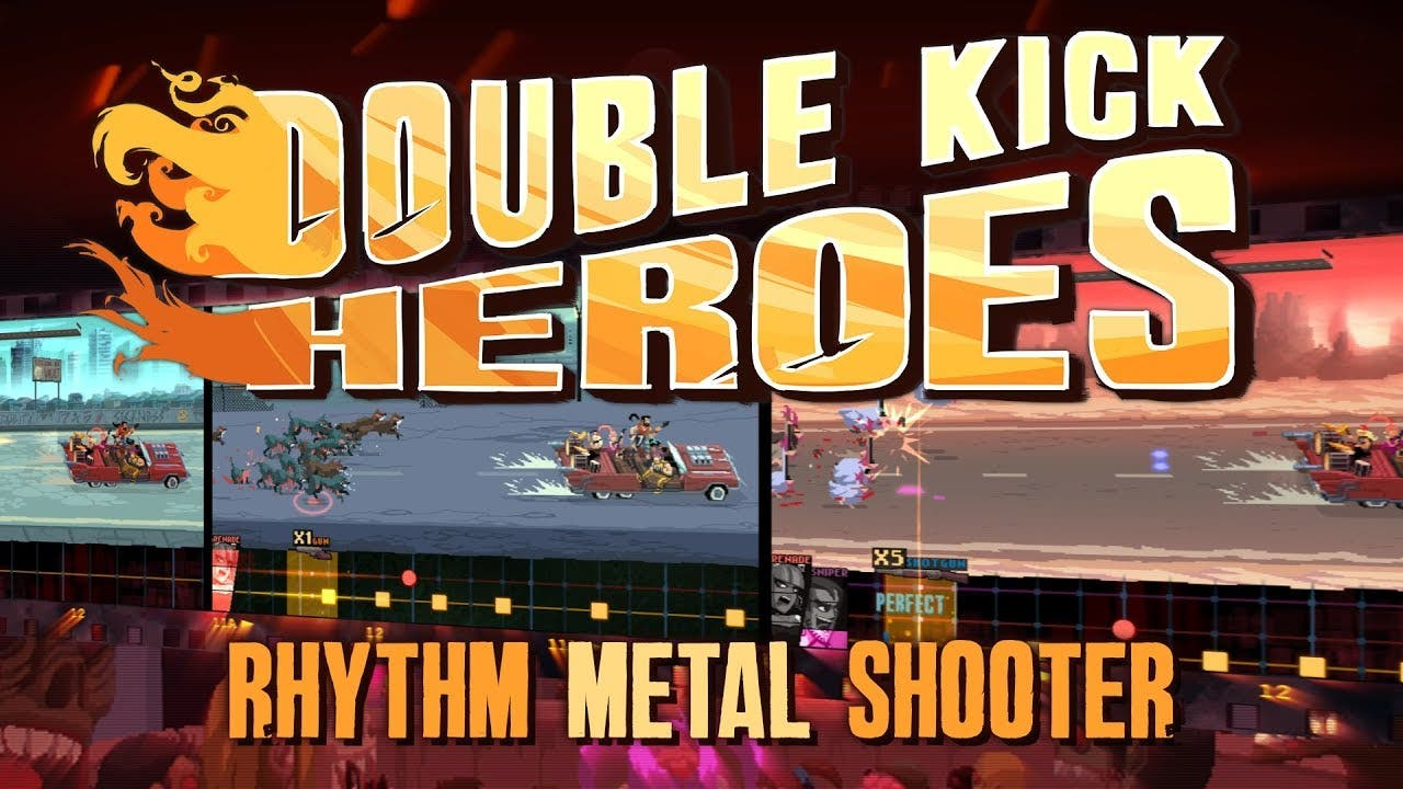 double kick heroes enters steam