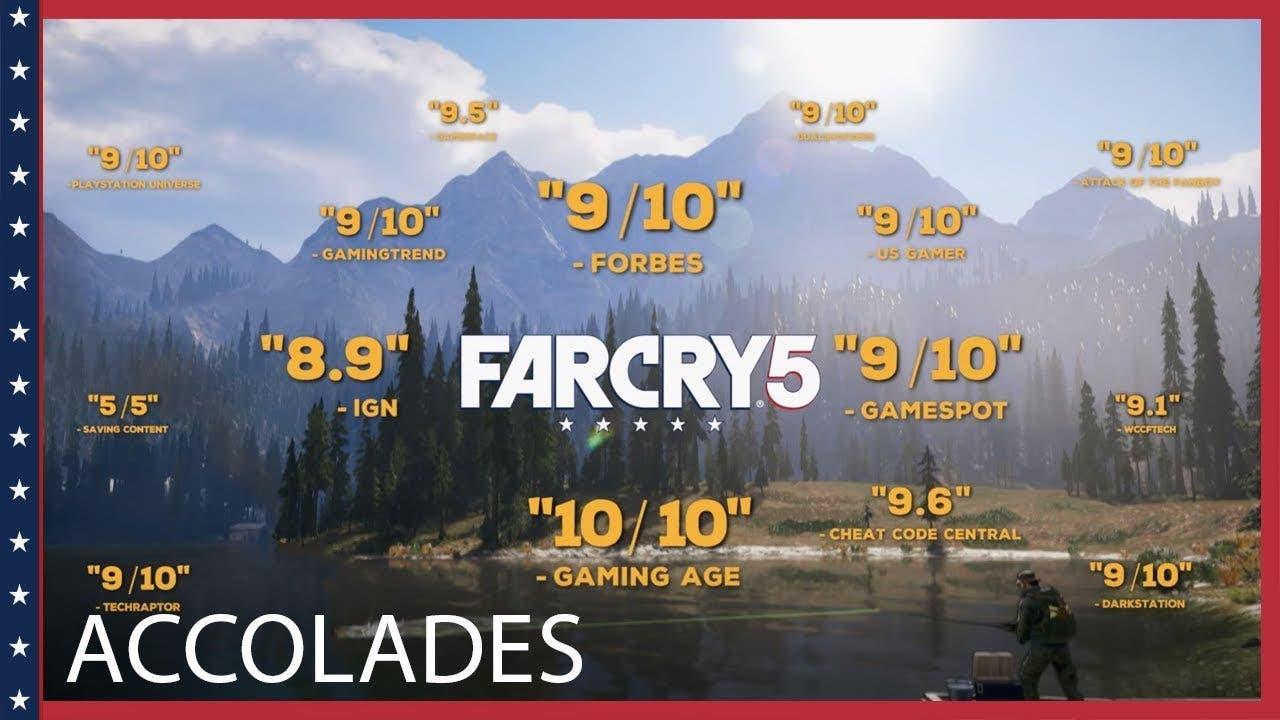 far cry 5 accolades trailer show