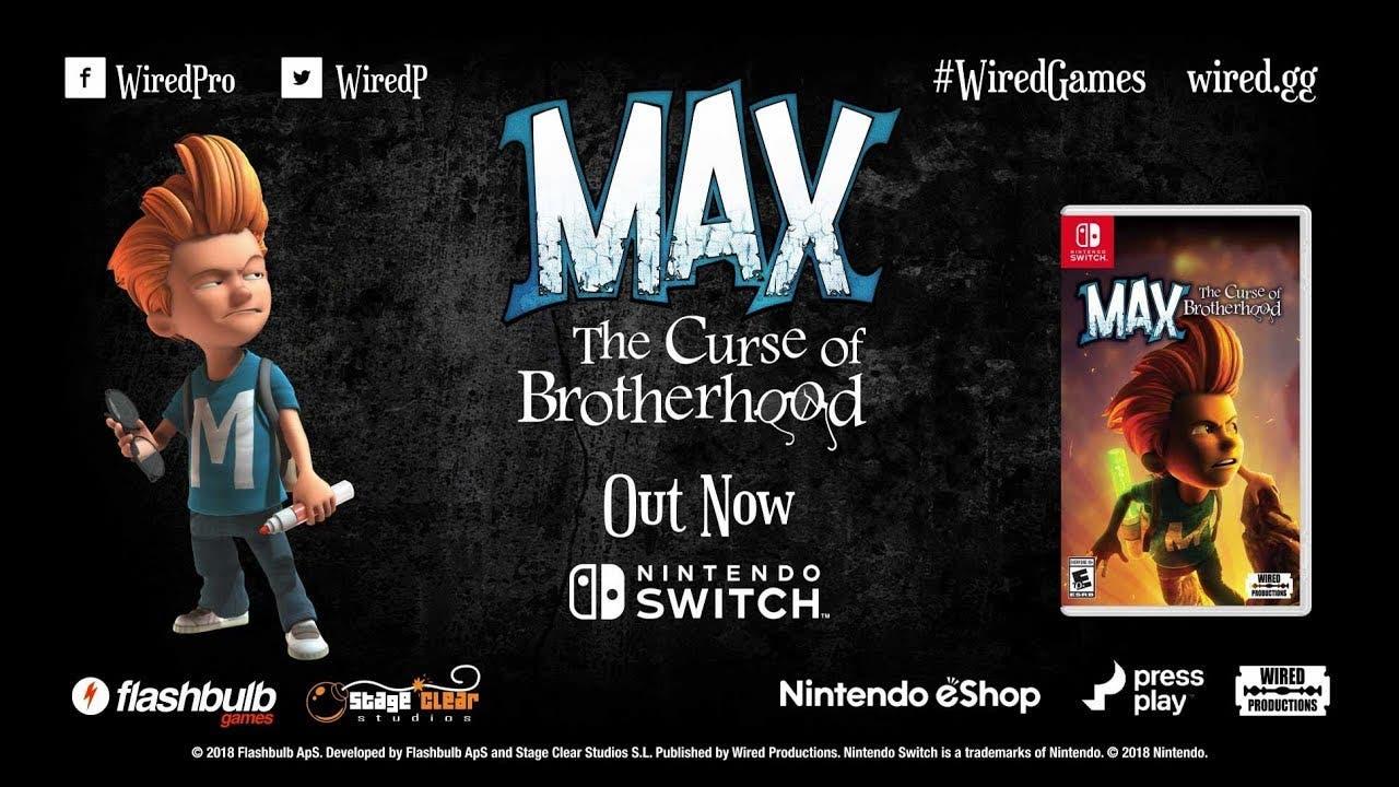 max the curse of brotherhood is