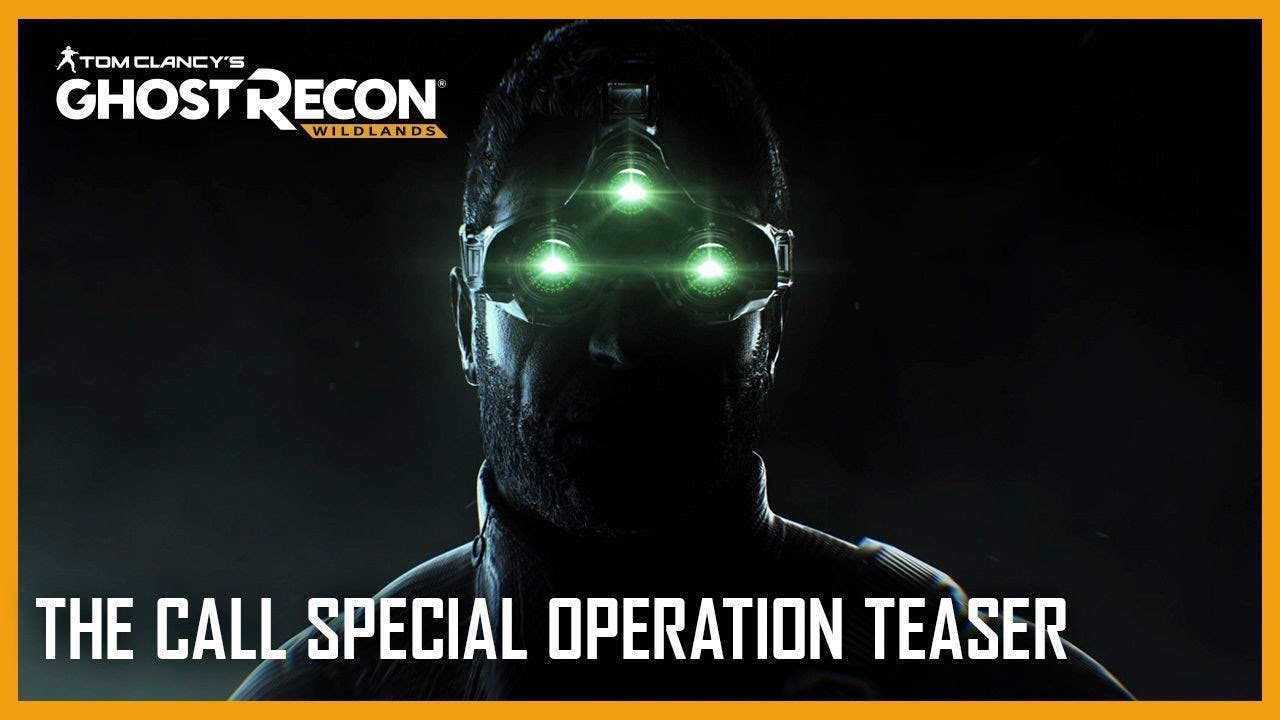 sam fisher teased in special ope